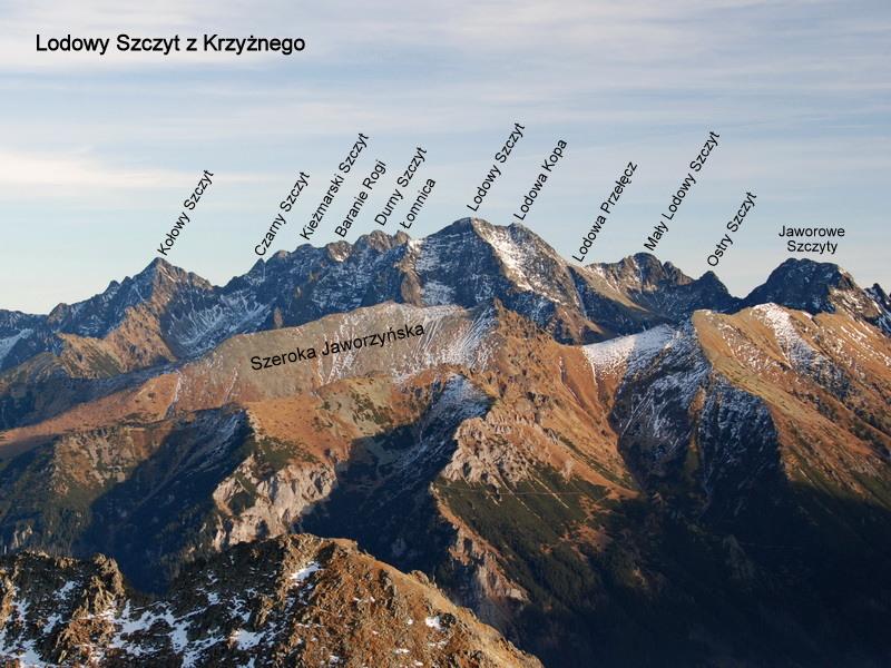 Przeglądasz zdjęcia z artykułu: Lodowa Przełęcz
